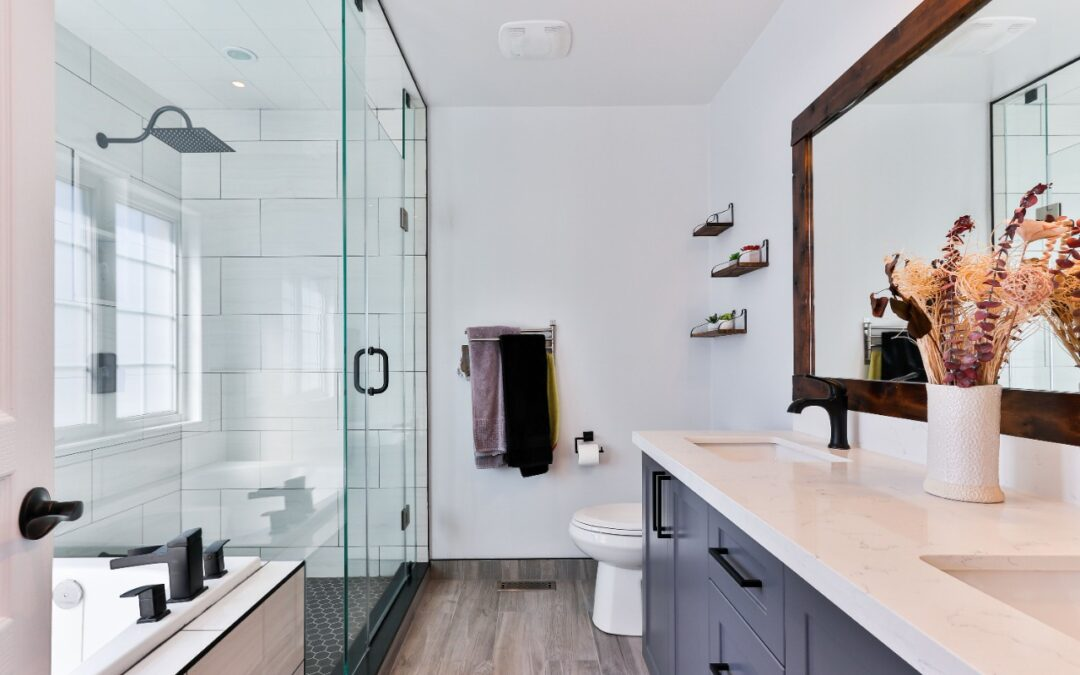 An Eye-Catchy Master Bathroom Renovation