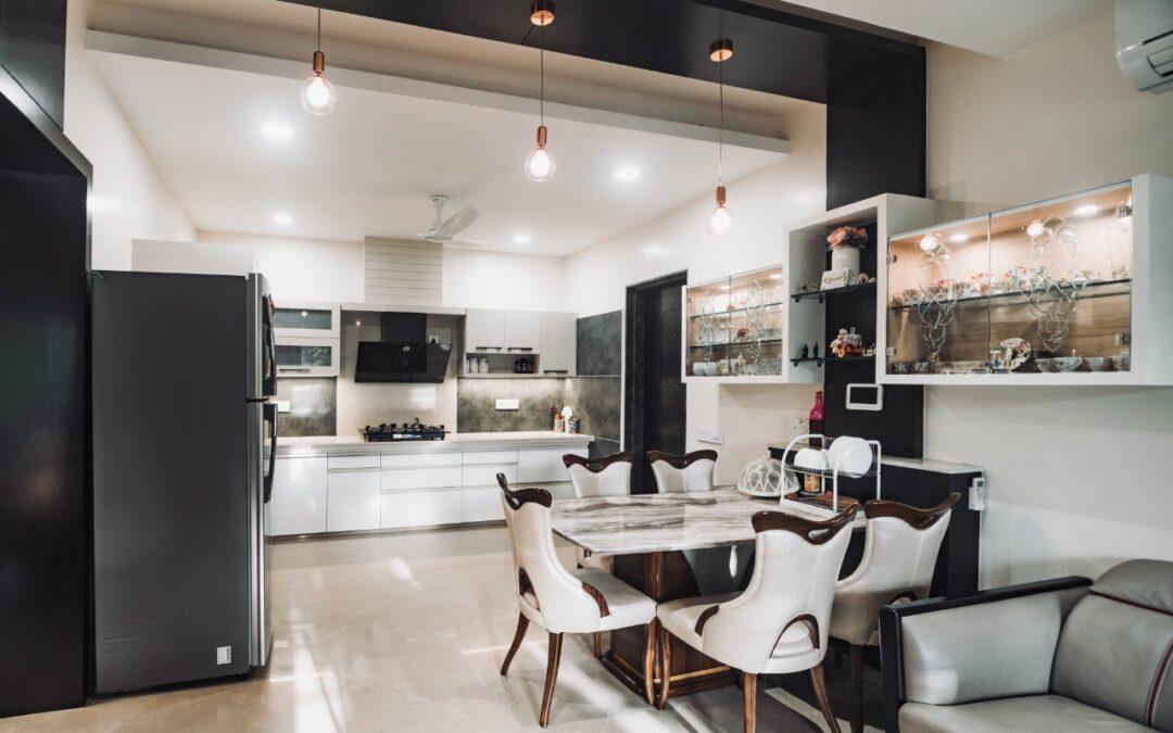 Go Classy with White Interior Design